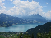 ... and the Brienzersee to the east.