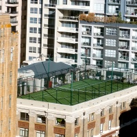 June Roof: Anyone for Tennis?